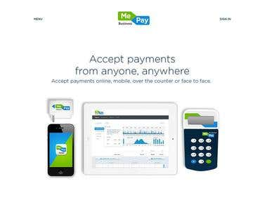 MePay Website Design