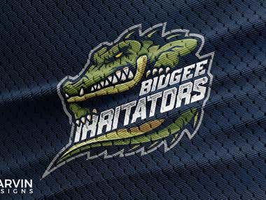 Bidgee Irritators Mascot Logo