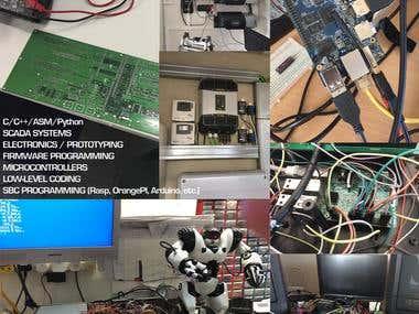 Electrónica, Microcontroladores y Firmware