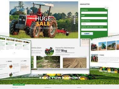 Tractor Export