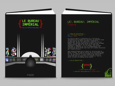 "Cover design for the sysadin book ""Le Bureau imperial"""