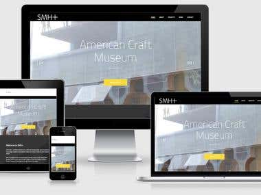 Smith-Miller + Hawkinson Architects | Website Design/Coding