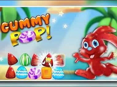 Gummp Pop! Free Match 3 Game