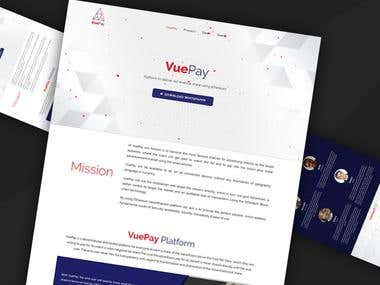 vuepay.co web development