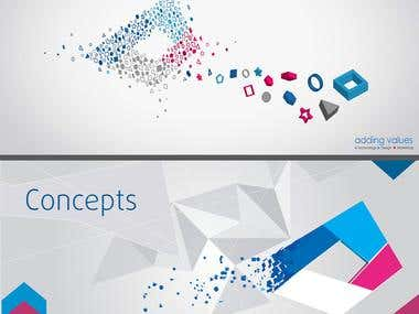 Concept Creative Agency Stationaty Design