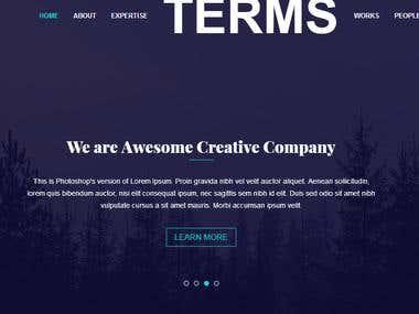 I am a web design and developer