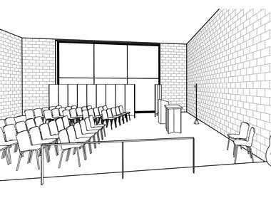 3D Model - Interior space