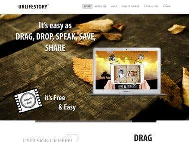 E-Scrapbook Social Networking Web App