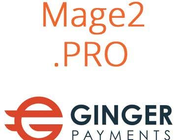 Ginger Payments integration with Magento 2