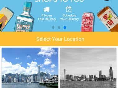 Hybrid Shopping App for wordpress wooccommerce site