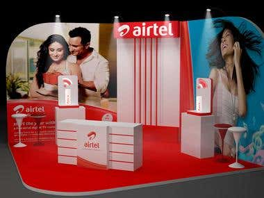 3D model - Airtel