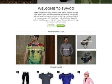 Garments Ecommerce Shop in Wordpress