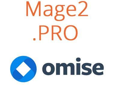 Omise integration with Magento 2