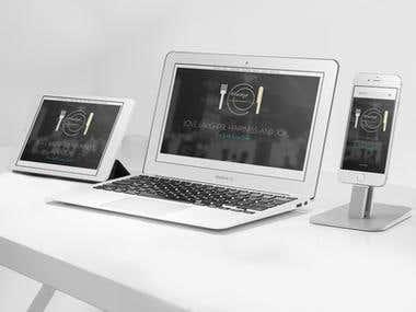 Wordpress Website for restaurant