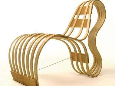 CHAIR DESIGN AND RENDERING
