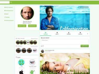 Social media site