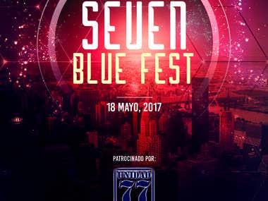Seven blue fest