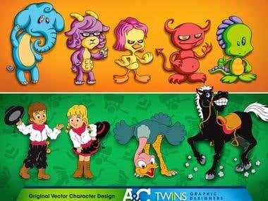 Original Vector Characters