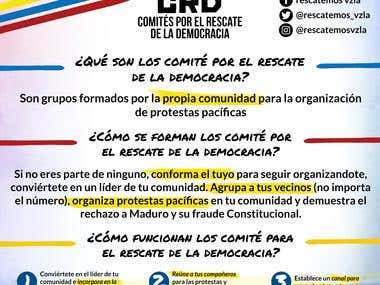 Committees for the rescue of democracy (CRD)