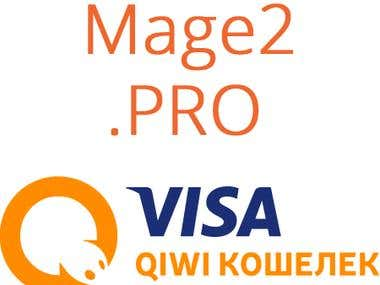 Visa QIWI Wallet (QIWI Кошелёк) integration with Magento 2