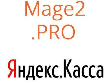 Yandex.Kassa (Яндекс.Касса) integration with Magento 2