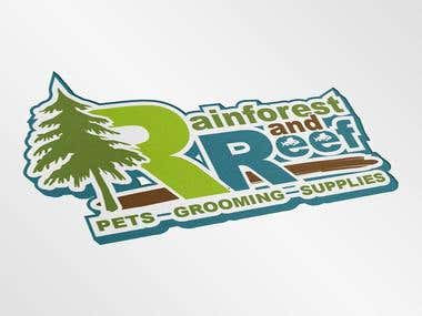Rainforest and Reef Branding