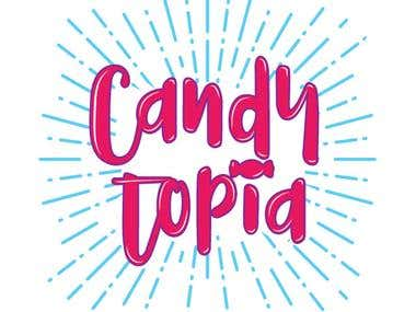 Candytopia logo
