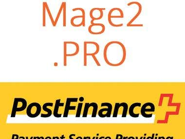 PostFinance integration with Magento 2