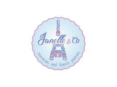 Logo for Janette and co