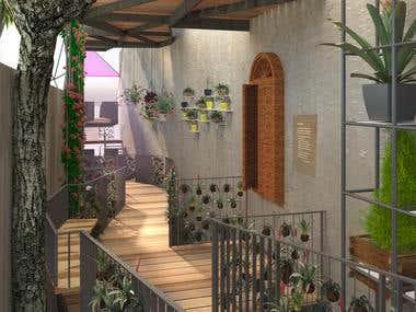 Garden Alley / Secret garden