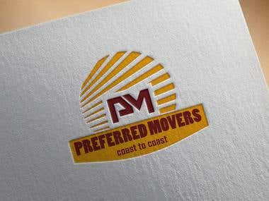 Logo Design for Preferred Movers