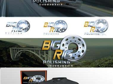 "Logo for company ""Big Rig Polishing"""