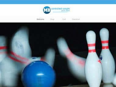 Mini Bowling Pins