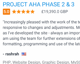 PROJECT AHA PHASE 2 & 3