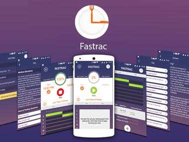 Make Diet App like Fastrac