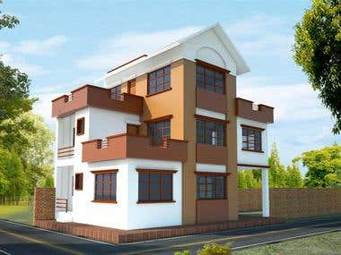 Exterior Design and Photorealistic Render