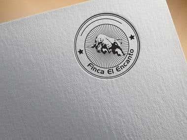 Finca El Encanto Logo Project