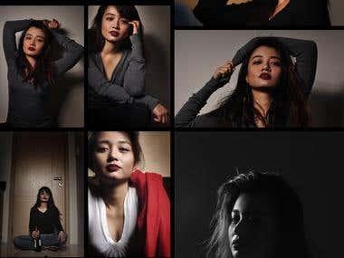 Creative Shoot / Model Portfolio