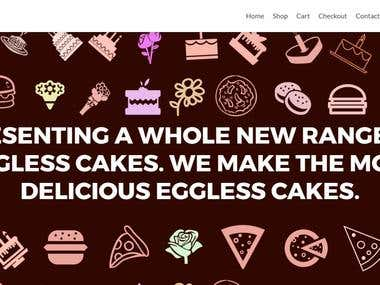 E-Commerce Website - Bakery