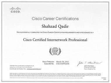 CCIP Certificate