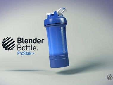 Blender Bottle 3D commercial | Applita Pictures