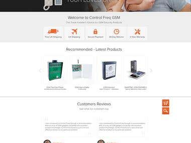 E Commerce Home Page Design(Contest Winner)