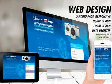 Landing page: Promo Skip Comfort