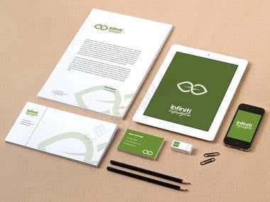 compliment slips and business letterheads