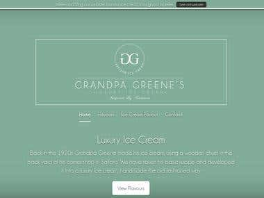 Grandpa Green's Luxury Ice Cream