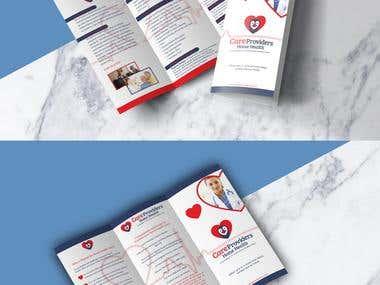 Brochure trifold (Illustrator)