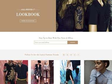 Magento 1.9 - Customisation in a Fashion website.