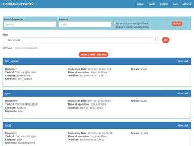 Job Post & Freelancer site