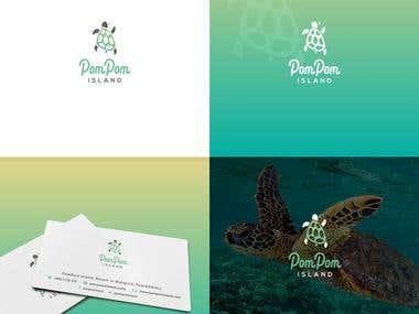 Logo / Pom Pom Island