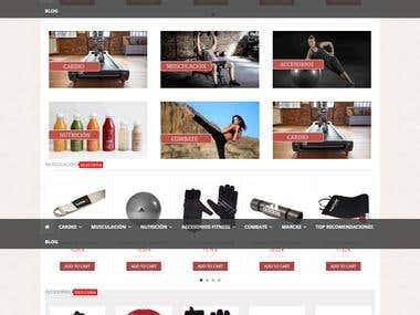 Accesorios Tienda de fitness Woutfitness.com woutfitne
